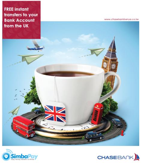 SimbaPay chase bank free transfers - fb